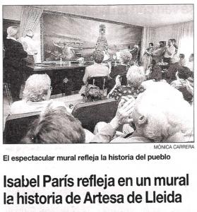 Isabel Paris es Noticia
