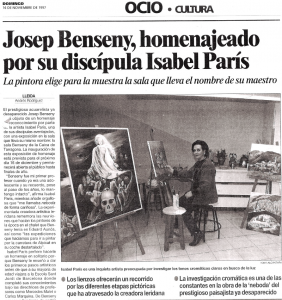 Isabel Paris i Josep Benseny
