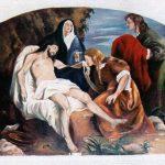 SAGRISTIA - JESUS BAIXAT DE LA CREU